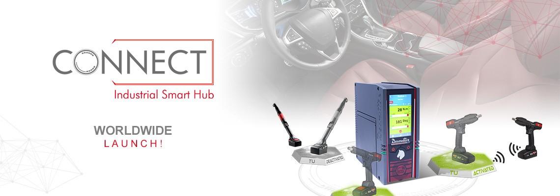Örömmel vezetjük be új Ipari Smart Hub-unkat! Íme, a CONNECT: a Desoutter 4.0 megoldás!