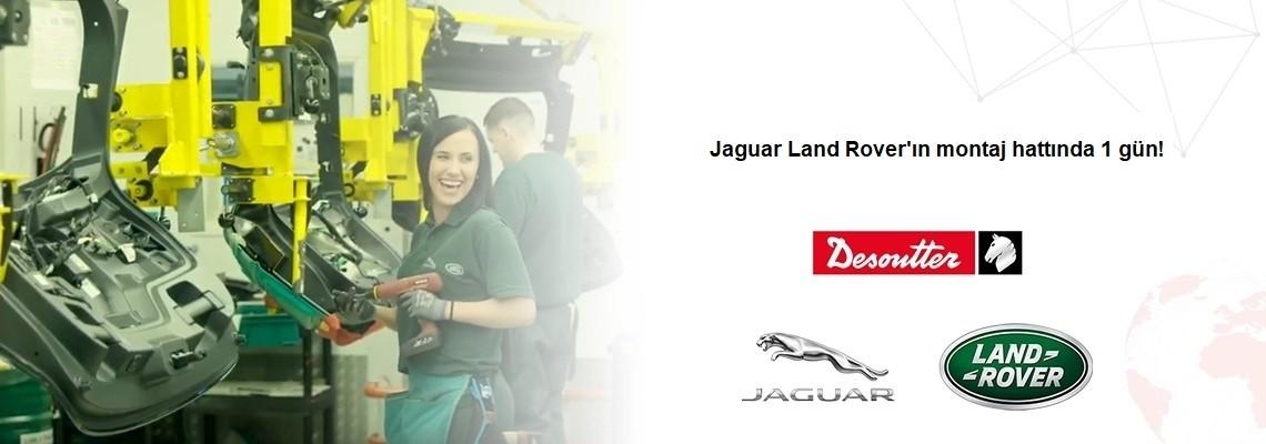 Élvezzen egy napot a Jaguar Land Rover szerelősorán!