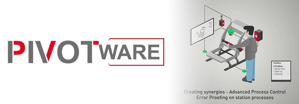 A Desoutter vállalat PivotWare termékcsaládja