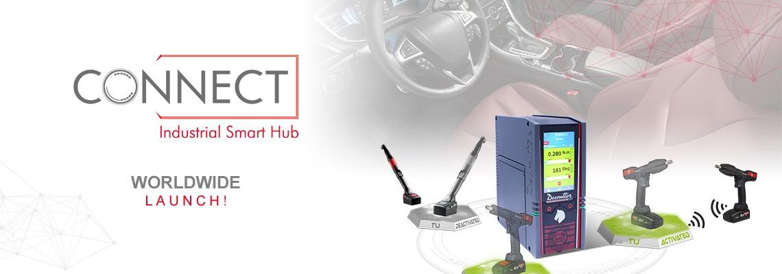 Büszkén mutatjuk be a CONNECT nevű, új ipari okos hubunkat: a Desoutter egyik 4.0-s megoldását!