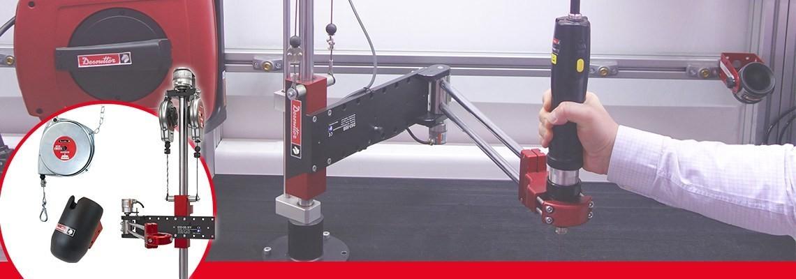 A Desoutter Industrial Tools csúcsminőségű és nagy teljesítményű termékeket és tartozékokat kínál Önnek. Szerszámainak kiegészítése és optimalizálása érdekében vegye fel velünk a kapcsolatot!