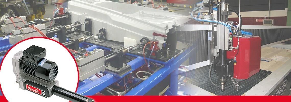 A Desoutter Tools olyan automata előtolású fúrógépeket (AFD) és menetfúrókat gyárt, amelyek könnyen beépíthetők egy gépbe vagy egy folyamatba. Teljesítmény és moduláris kialakítás. Kérjen árajánlatot!