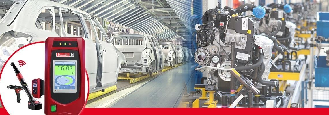 A Desoutter Industrial Tools CVI3 termékcsaládja a legerősebb és legrugalmasabb transzduktoros kézi szerszámokból áll a hatékony rögzítés szolgálatában.