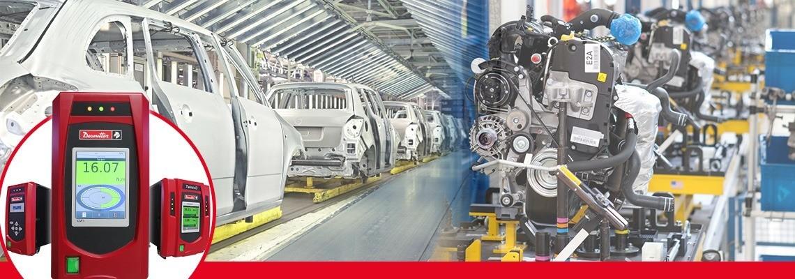 Fedezze fel a Desoutter Industrial Tools nagy teljesítményre és termelékenységre tervezett elektromos szerelőrendszereit! Kérjen tőlünk árajánlatot vagy bemutatót!