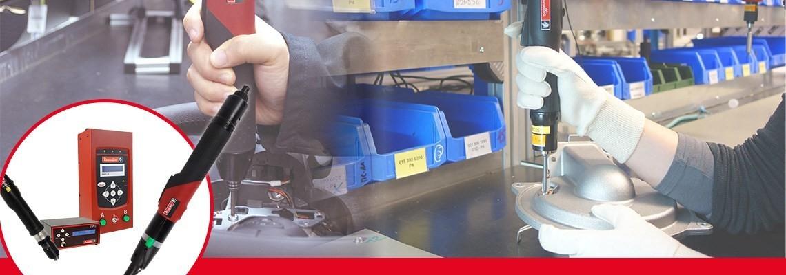 Fedezze fel a Desoutter Industrial Tools által megalkotott SLBN és SLC szerszámokat! Két nagy termelékenységre tervezett, elektromos csavarhúzókból álló, teljes körű termékcsalád.