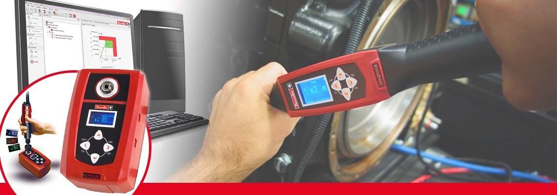 A Desoutter Industrial Tools által tervezett Alpha digitális nyomatékmérő lehetővé teszi a csavarhúzók, nyomatékkulcsok vagy csavarkulcsok által nyújtott eredmények ellenőrzését és összegyűjtését.