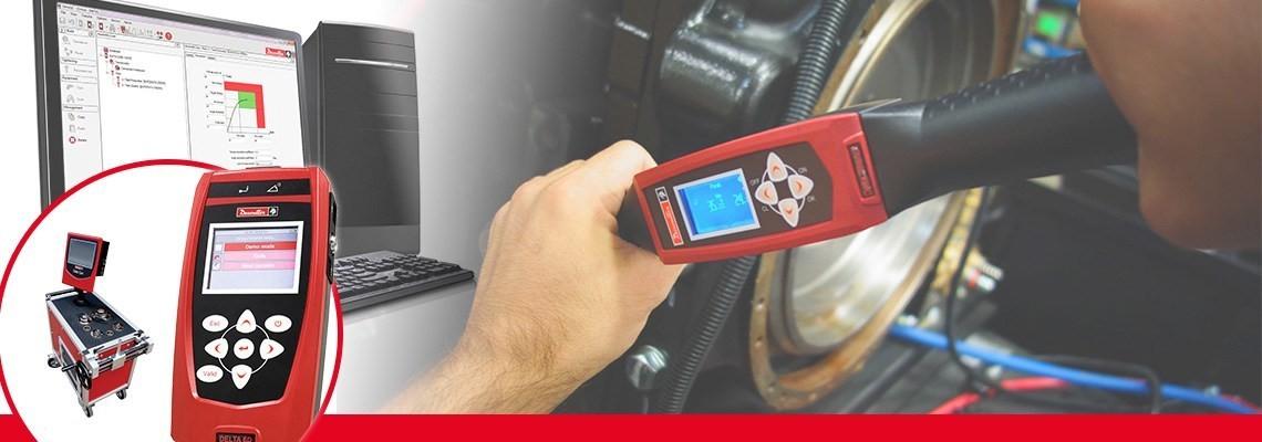 Fedezze fel a Desoutter Industrial Tools által az elektromos és pneumatikus szerszámokhoz kifejlesztett nyomatékmérő eszközöket, amelyek teljes nyomonkövethetőséget és precíziót tesznek lehetővé.
