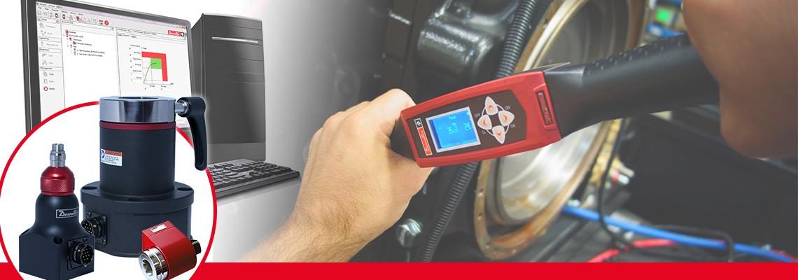 A Desoutter Industrial Tools forgó nyomatékátalakítók teljes skáláját tervezte meg a nem ütőműves szerelőszerszámok nyomatékkimenetének méréséhez.