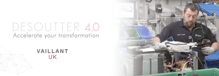 A Vaillant UK nagyobb sebességre kapcsol az Ipar 4.0-ra való áttérés során
