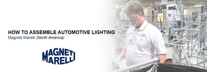 Hogyan gyárt a Magneti Marelli gépjárműipari világítástechnikát?