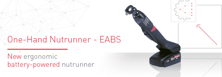Új ergonomikus, akkumulátoros csavarbehajtó: az EABS